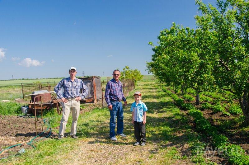 Павел и Павел Владимирович с сыном