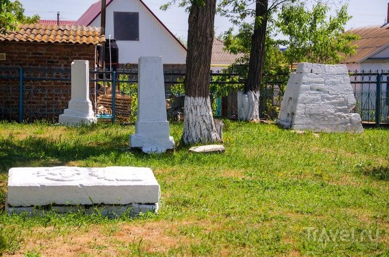 Вид на масонское кладбище