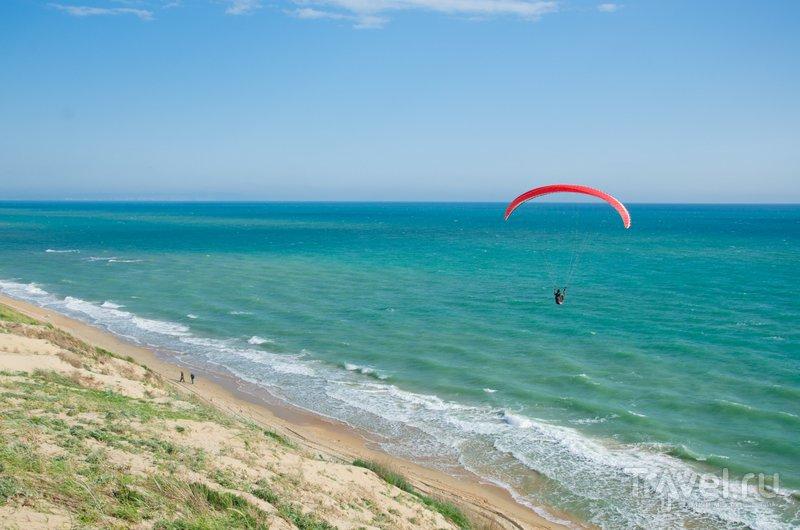 От Анапы вдоль берега можно долететь до Новороссийска