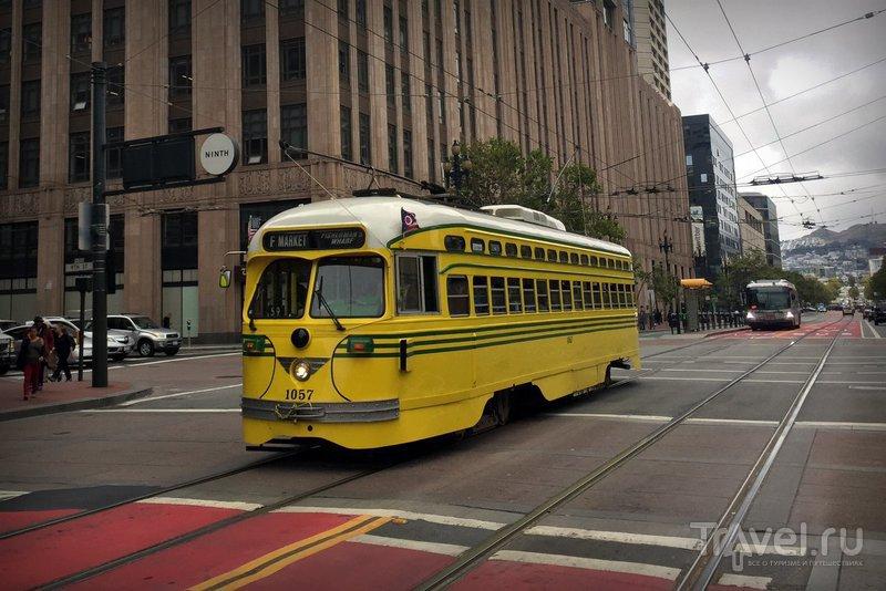 США: Исторические трамваи Сан-Франциско / США