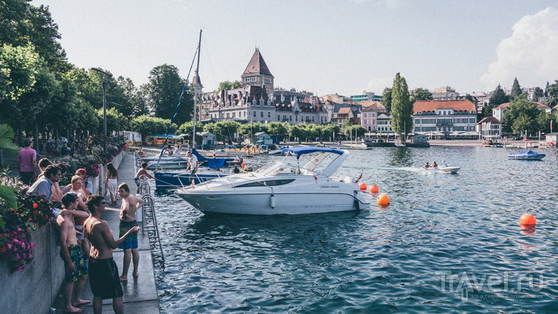 Un jour petit in Lausanne - Маленький день в Лозанне
