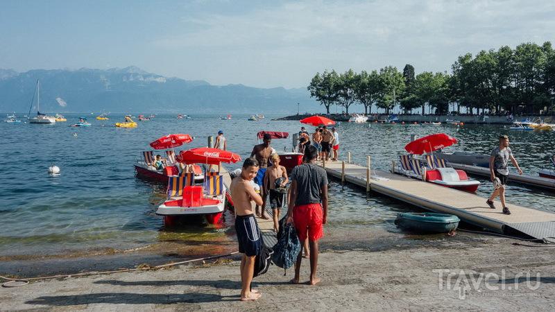 Лето в Лозанне или Город-пляж и никаких музеев!
