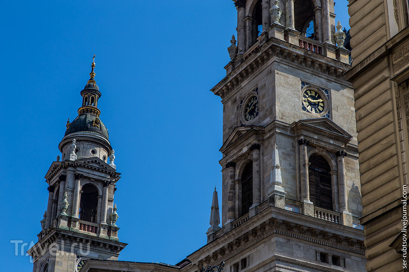 От площади Ференца Деака до Венгерского парламента / Фото из Венгрии