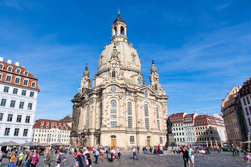 Дрезден: прогулки по улицам, центр города / Фото из Германии