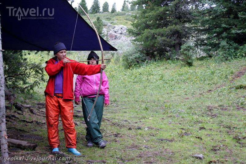 По Горному Алтаю на конях. Затяжной дождь... / Россия
