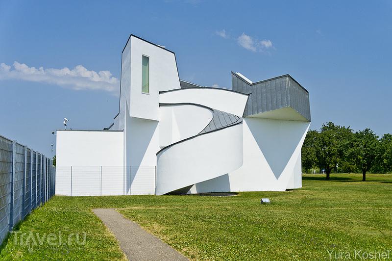 Штаб-квартира Vitra <em>дизайна</em> и музей Vitra Design в Вайле-на-Рейне / Фото из Германии