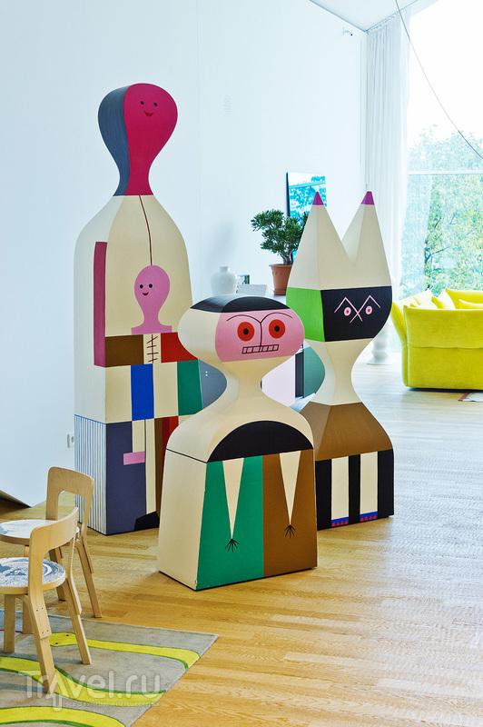 Штаб-квартира Vitra и музей Vitra Design в Вайле-на-Рейне / Фото из Германии