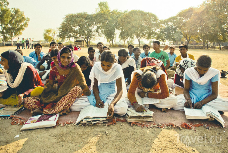 Индийские школы: заходим и смотрим / Индия
