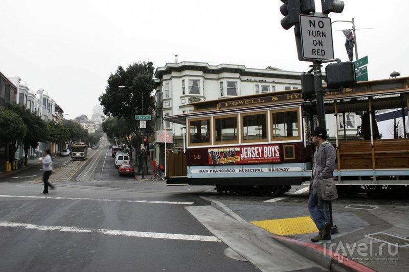 США: Канатный трамвай Сан-Франциско / США