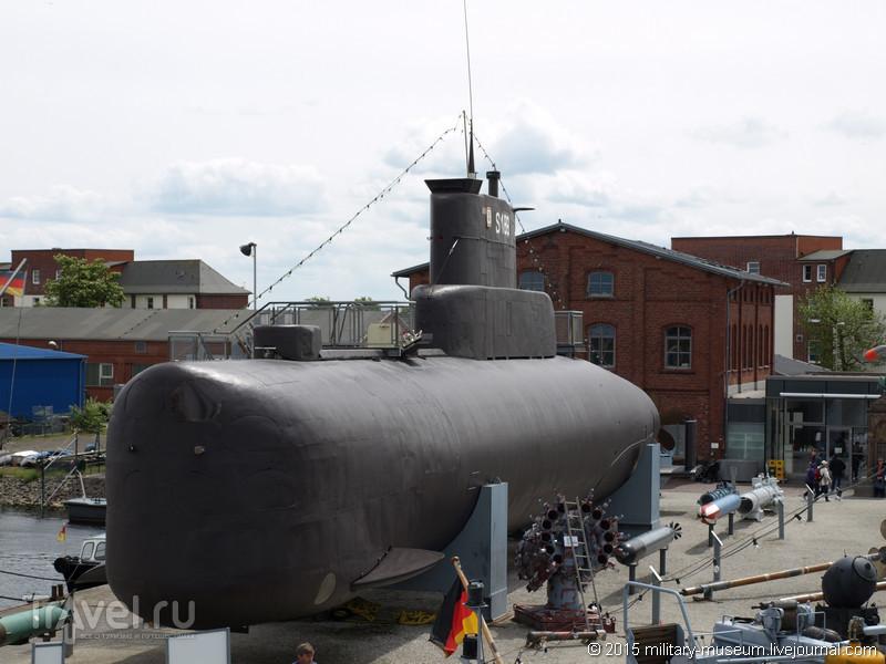 """Подводная лодка-музей """"U 10"""" (S 189) в Вильгельмсхафене / Германия"""