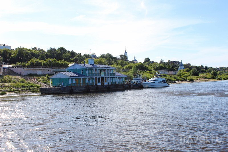 На кораблике по Оке / Россия