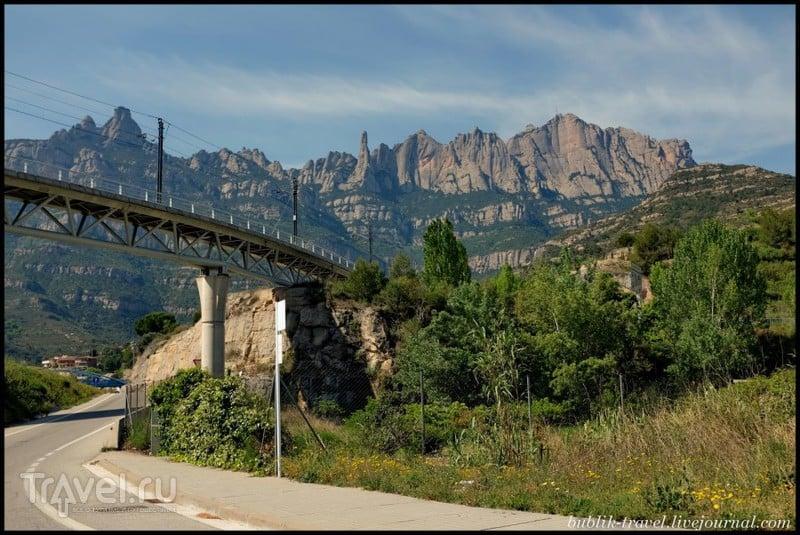 Все дороги ведут в... Монсеррат! / Фото из Испании