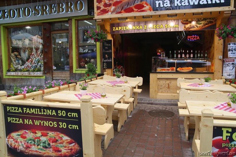 Где обменять деньги и перекусить в Закопане / Польша
