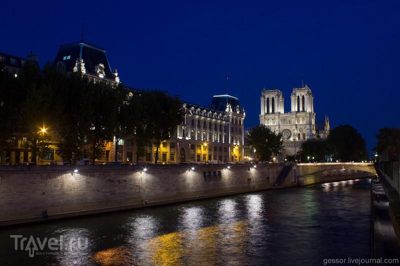 Париж с мотоцикла. Город мимоходом / Франция