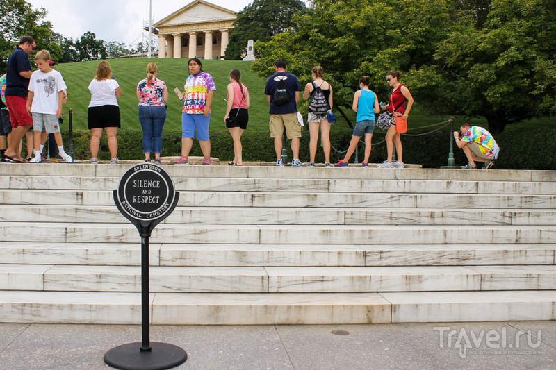 Арлингтонское национальное кладбище / США