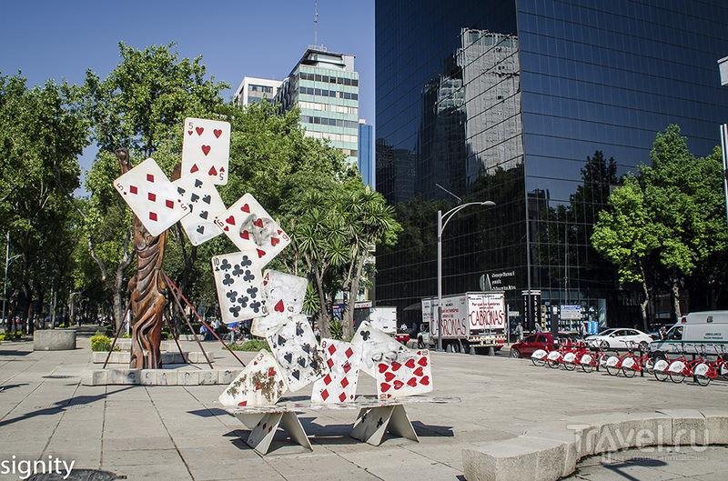 Мексиканские скамейки. Обзор / Мексика