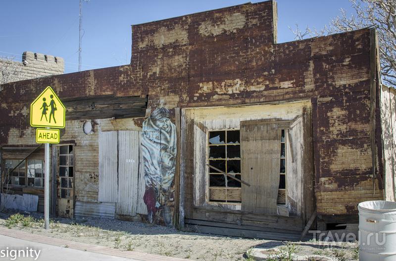 Городок золотодобытчиков Goldfield. США. Невада / США