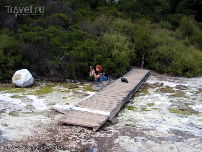 Wai-O-Tapu. Краски подземных художников / Фото из Новой Зеландии