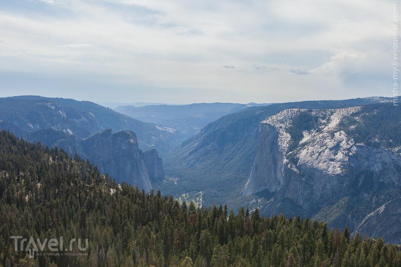 США. Лето в парках. Национальный парк Yosemite / Фото из США