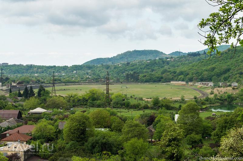Абхазия. Об озере Рица, абхазских гаишниках, папахе и двух орлах / Фото из Абхазии