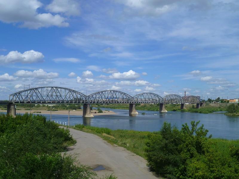 Казахстан, Семипалатинск. Про реки и мосты / Казахстан