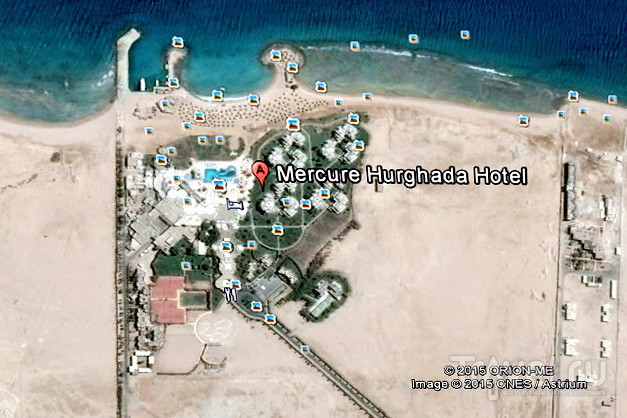 Отель Mercure в Хургаде. Риф / Египет