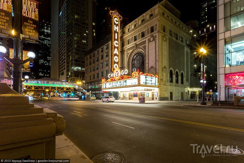 Ночная красота Чикаго / Фото из США