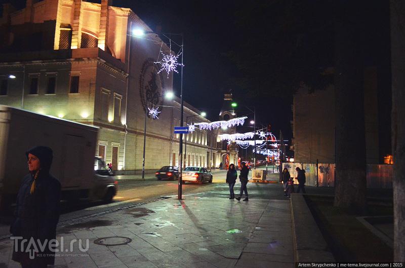 Вечерний Кутаиси / Грузия