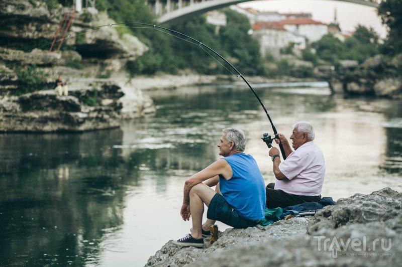 Город Мостар / Фото из Боснии и Герцеговины