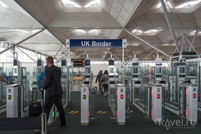 Погранконтроль на въезде в Великобританию