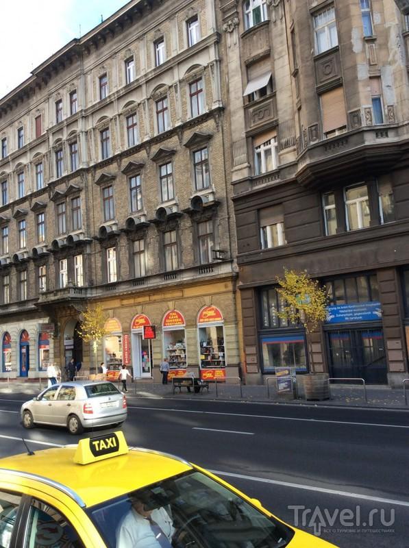Будапешт из окна автобуса Hop-on Hop-off / Венгрия