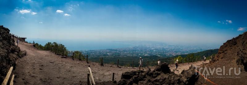 Итальянские каникулы. Вулкан Везувий / Италия