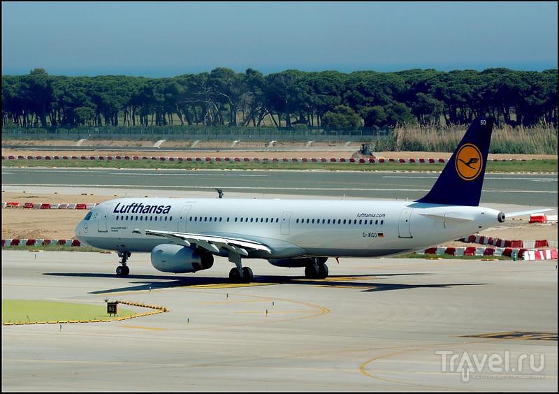 El Prat de Llobregat. Аэропорт Барселоны. Испания / Испания