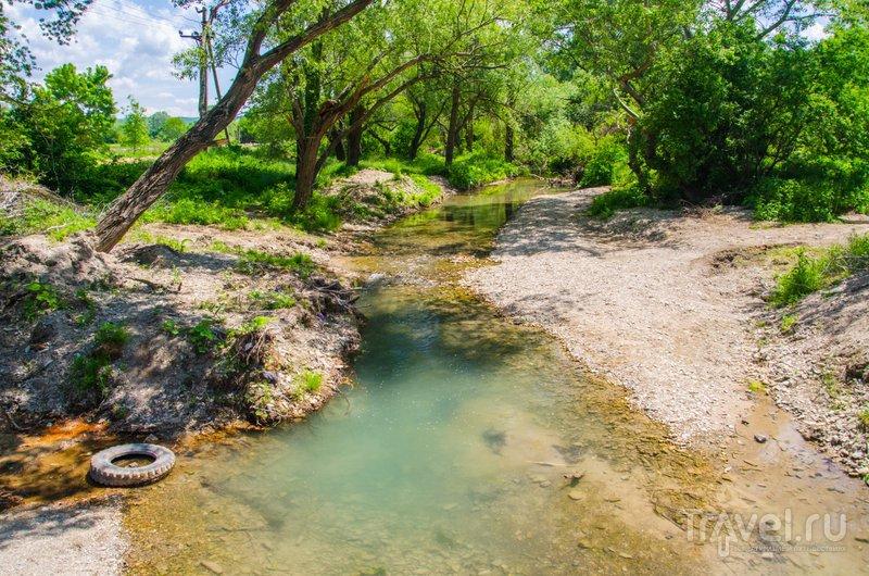Река в Сукко, вдоль которой проходит один из маршрутов