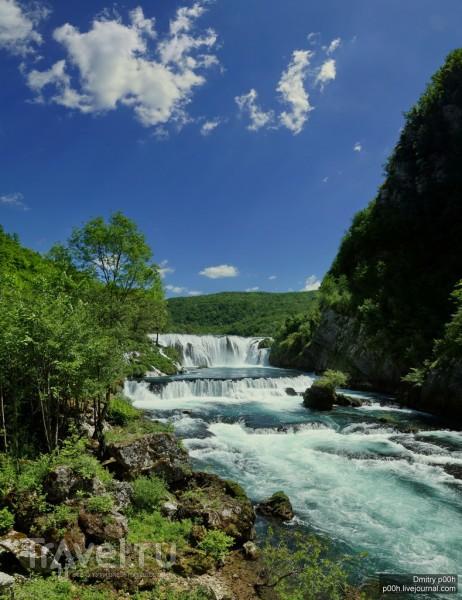 Красивый горный край. Босния-и-Герцеговина. Уна - национальный парк / Фото из Боснии и Герцеговины