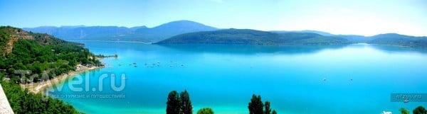 Прованс. Поля Лаванды и Озеро Святого Креста / Франция