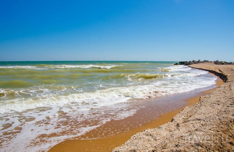 Азовское море - теплое и красивое