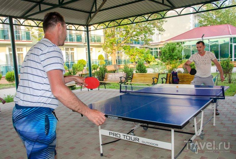 """Чемпионат """"Олимпа"""" по настольному теннису, организованный аниматорами"""
