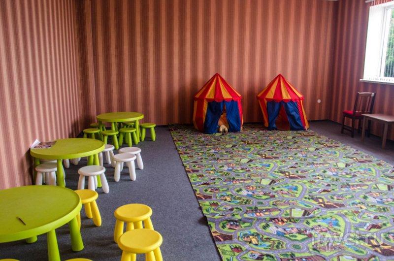 Детская комната, где с детьми работают аниматоры