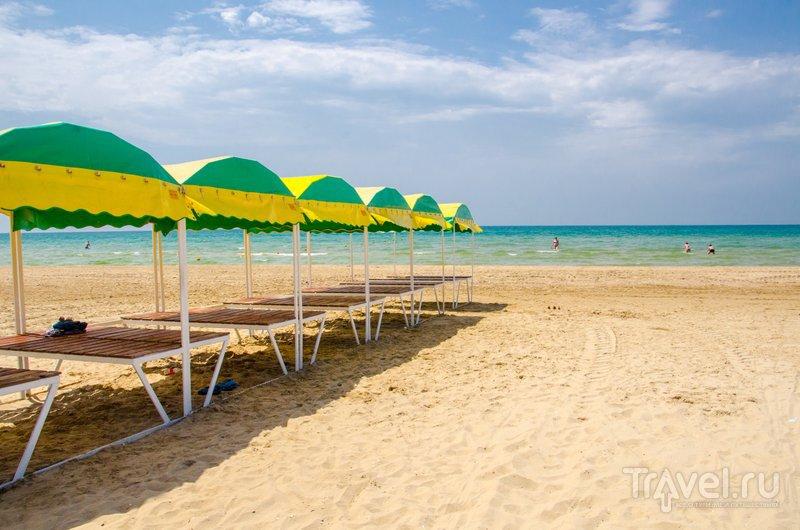 "На пляже ""Олимпа"" - до него 7-10 минут ходьбы"