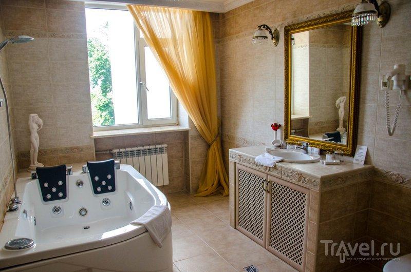 Ванная комната президентского номера