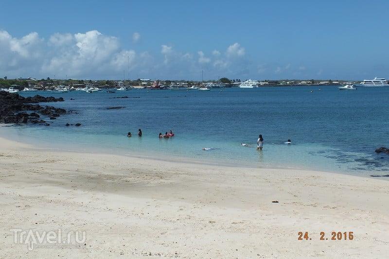 Галапагосы. Остров Сан-Кристобаль. Пляж  Mann / Эквадор