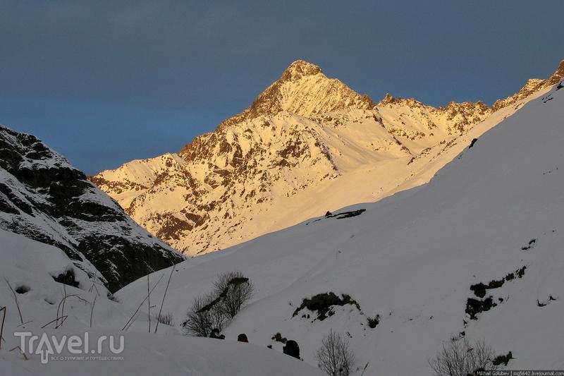 О вершинах Кавказа. Гюльчи, Тепли, Шхельда / Фото из России