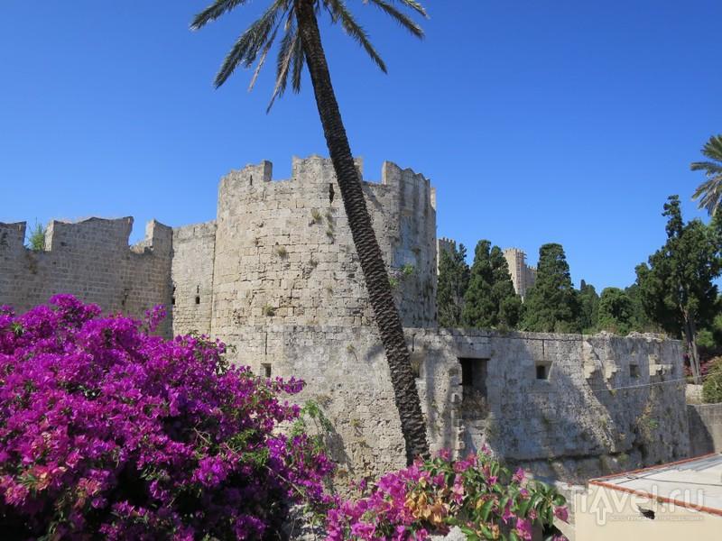 Фортификация средневекового Родоса / Греция