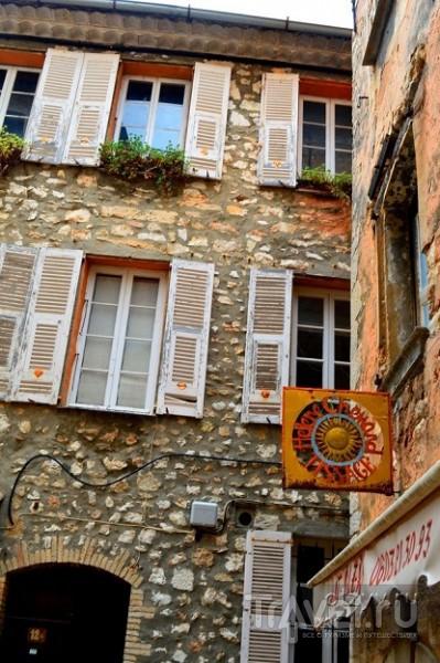 Турет-Сюр-Лу - назад в средневековье / Франция