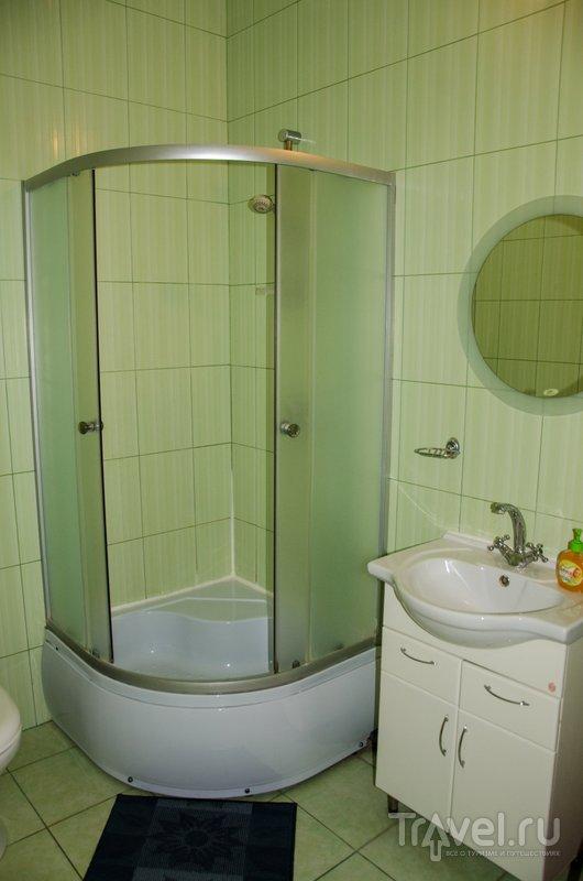 Ванная комната в станлдартном номере