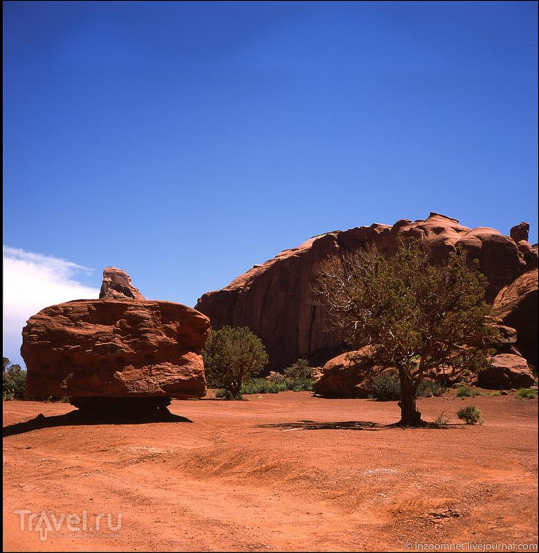 Долина монументов - место, в котором время остановилось / Фото из США
