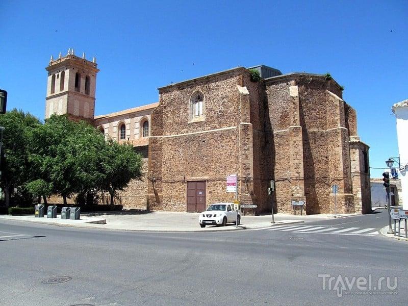 Альмагро и замок Боланьос де Калатрава / Фото из Испании