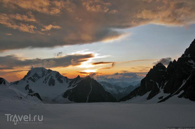 О вершинах Кавказа. Бурджула, Лабода и Цители / Фото из России