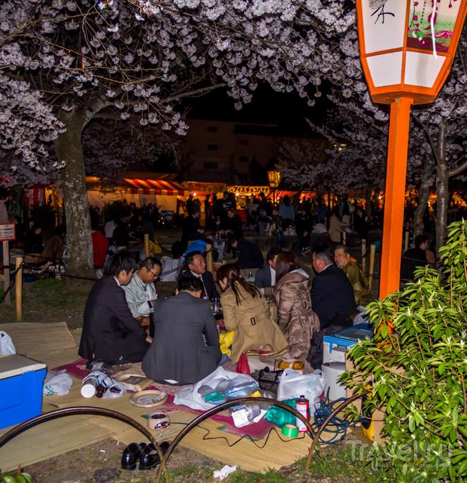 Ночной Киото / Япония